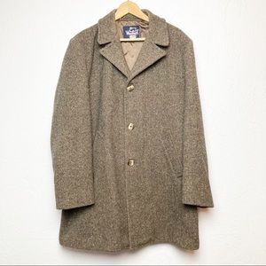 Woolrich vintage Brown Tweed Wool jacket 44
